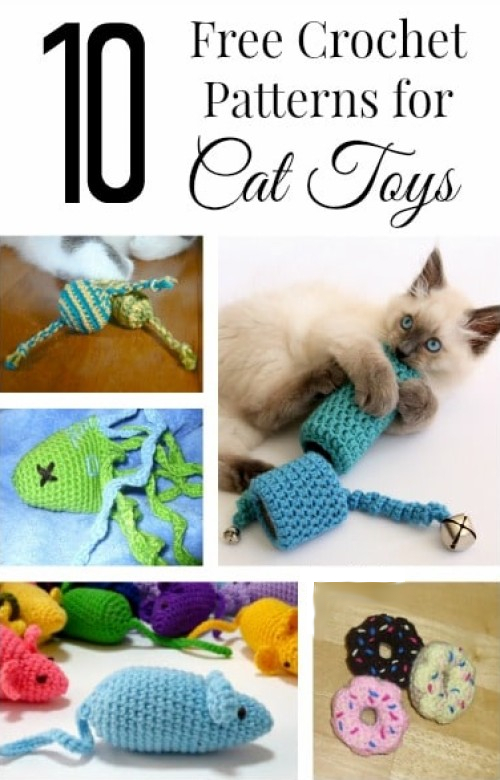 Free Crochet Patterns for Cat Toys