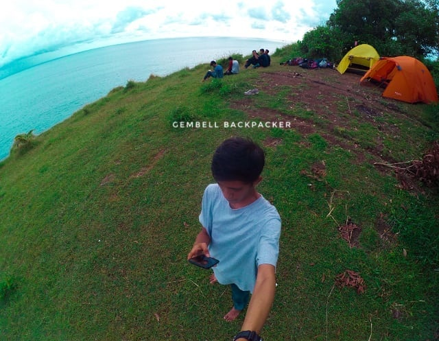 Camping Ceria di Bukit Pengilon, Gunung Kidul, Jogjakarta