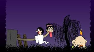 Nobita sợ ma hài hước