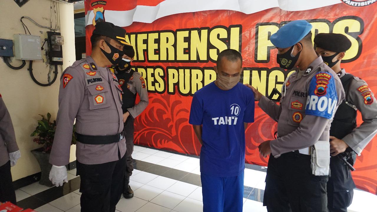 Bobol Bengkel dan Curi Sparepart Kendaraan, Warga Kemangkon Ditangkap Polisi