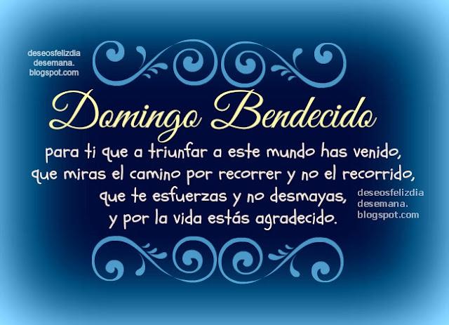 Feliz Domingo Bendecido, imágenes para mi facebook de feliz día domingo, bendiciones, postales cristianas del domingo, tarjeta gratis para etiquetar amigos del día domingo.