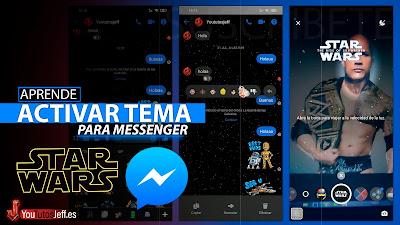 activar star wars messenger