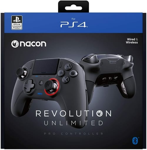 Review NACON PS4 PC Wireless Controller Esports