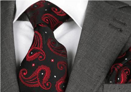 Desenli kravatlar