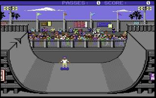 Videojuego Skate or Die - Commodore 64