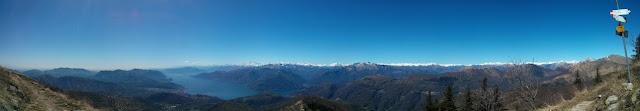 lago di Maggiore from Monte Lema