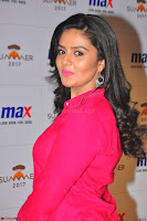 Sree Mukhi in Pink Kurti looks beautiful at Meet and Greet Session at Max Store (37).JPG