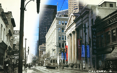 calgary alberta ghosting archival images stephen avenue