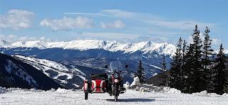 Uraling to Montezuma, Colorado via Loveland Pass