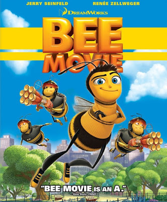 Bee Movie 2007 Multi Audio Hindi 720p BluRay ESubs 600MB