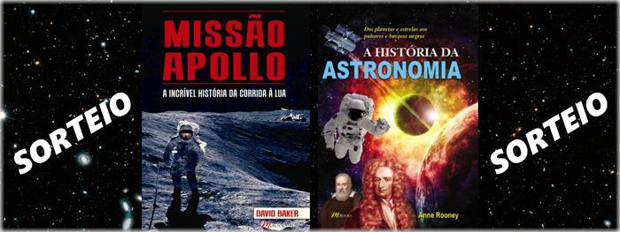 sorteio livros de astronomia