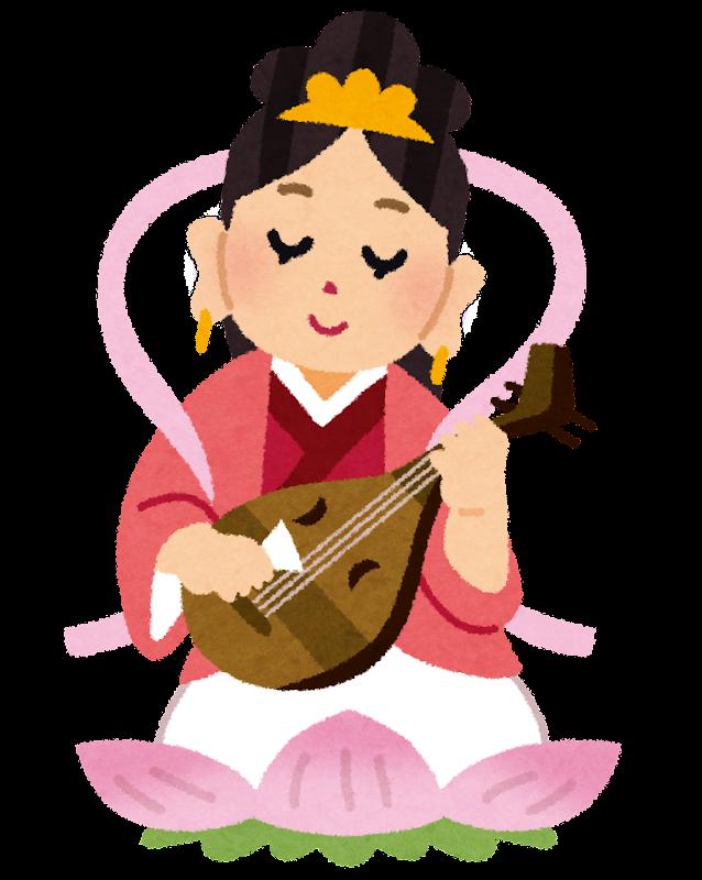 すべての講義 お金 おもちゃ : 冠をかぶり琵琶を弾く七福神の ...