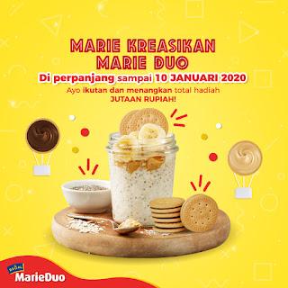 Lomba Kreasi Regal Marie Duo Berhadiah Jutaan Rupiah dan Goodie Bag