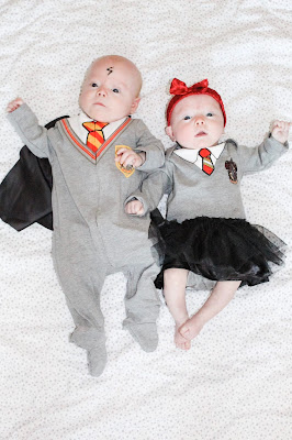 harry potter and hermione granger baby costumes for twins