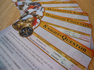 Warhammer Quest: Silver Tower character sheets