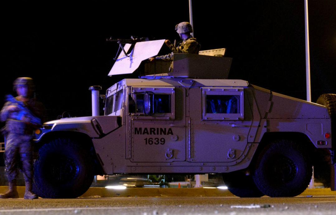 Llegan Marinos a calmar a los Narcos en Guanajuato