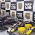 Polícia encontra equipamentos furtados na Vale, avaliados em R$ 20 mil