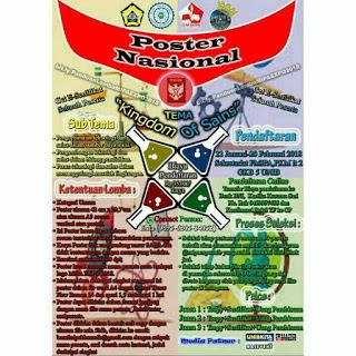 Lomba Desain Nasonal 2018 di UNIB (Univeritas Bengkulu)
