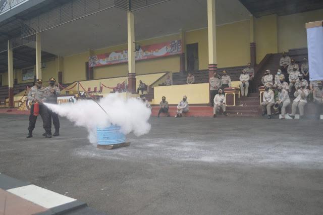 Setukpa Polri Gelar Latihan Apar di Sukabumi