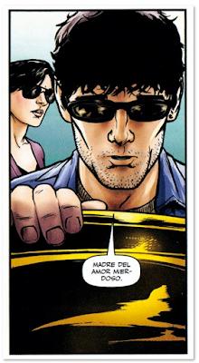 Viñeta de Equipo Rojo 2, centro de masas, dos disparos de Garth Ennis y Graig Cermak edita Planeta Comic