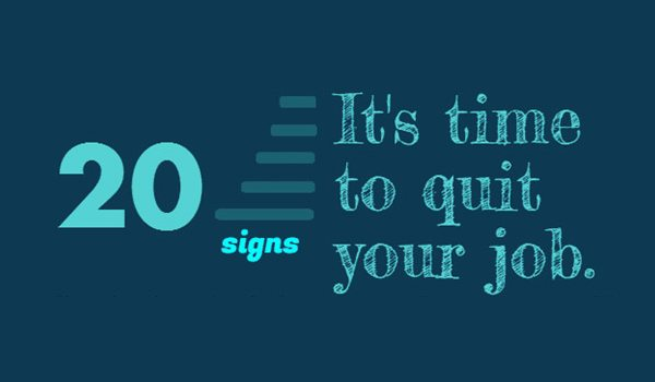 Things that show you to quit your job and start a business (infographic)