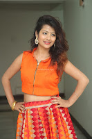 Shubhangi Bant in Orange Lehenga Choli Stunning Beauty ~  Exclusive Celebrities Galleries 002.JPG