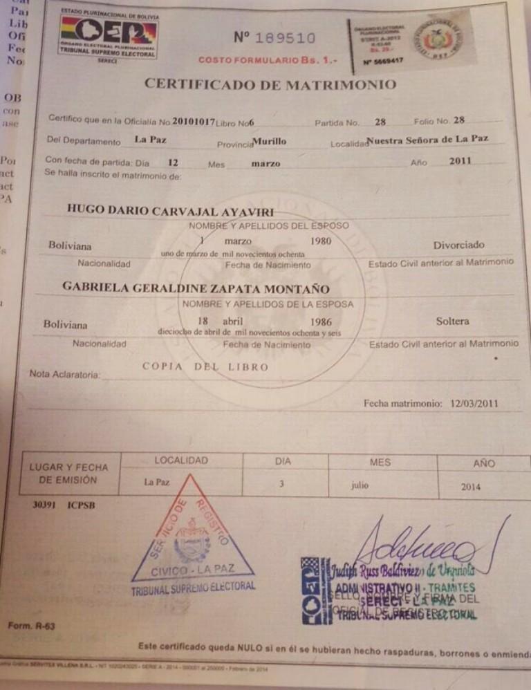 Bolivia: ¿Cómo corregir los datos del Certificado de nacimiento ...