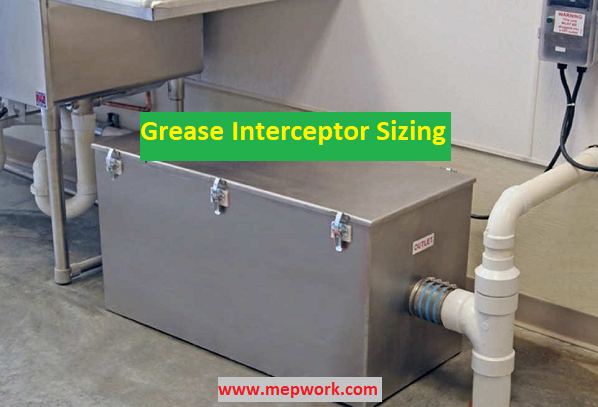 Grease Interceptor Sizing Excel Sheet - Grease Trap