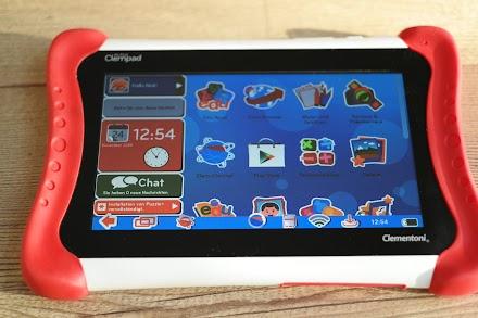 Clempad von Clementoni - Ein Android Kindertablet von 3-6 Jahren im Atomlabor Test | Anzeige