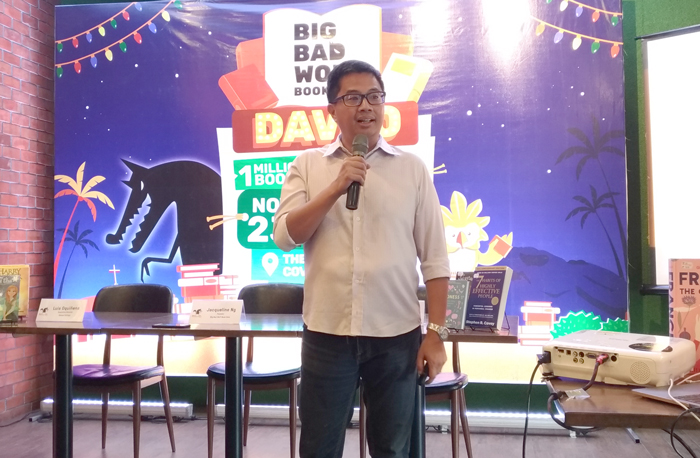 Miguel Mercado, Marketing Manager Big Bad Wolf Book Sale
