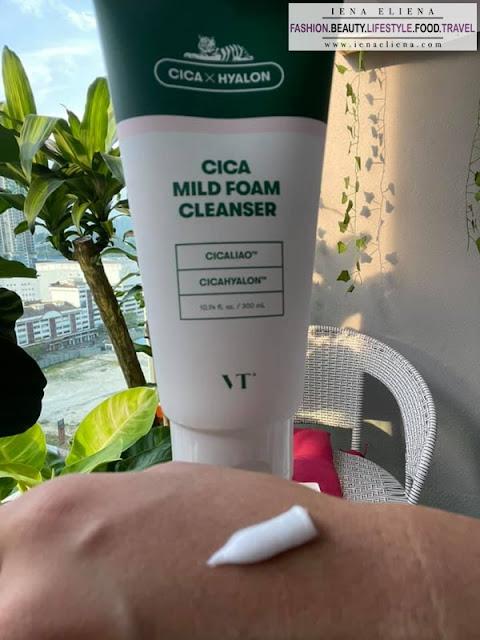 Review VT Cica Mild Foam Cleanser