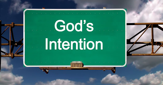 God's Intention
