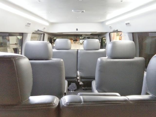 konfigurasi jok suzuki carry minibus