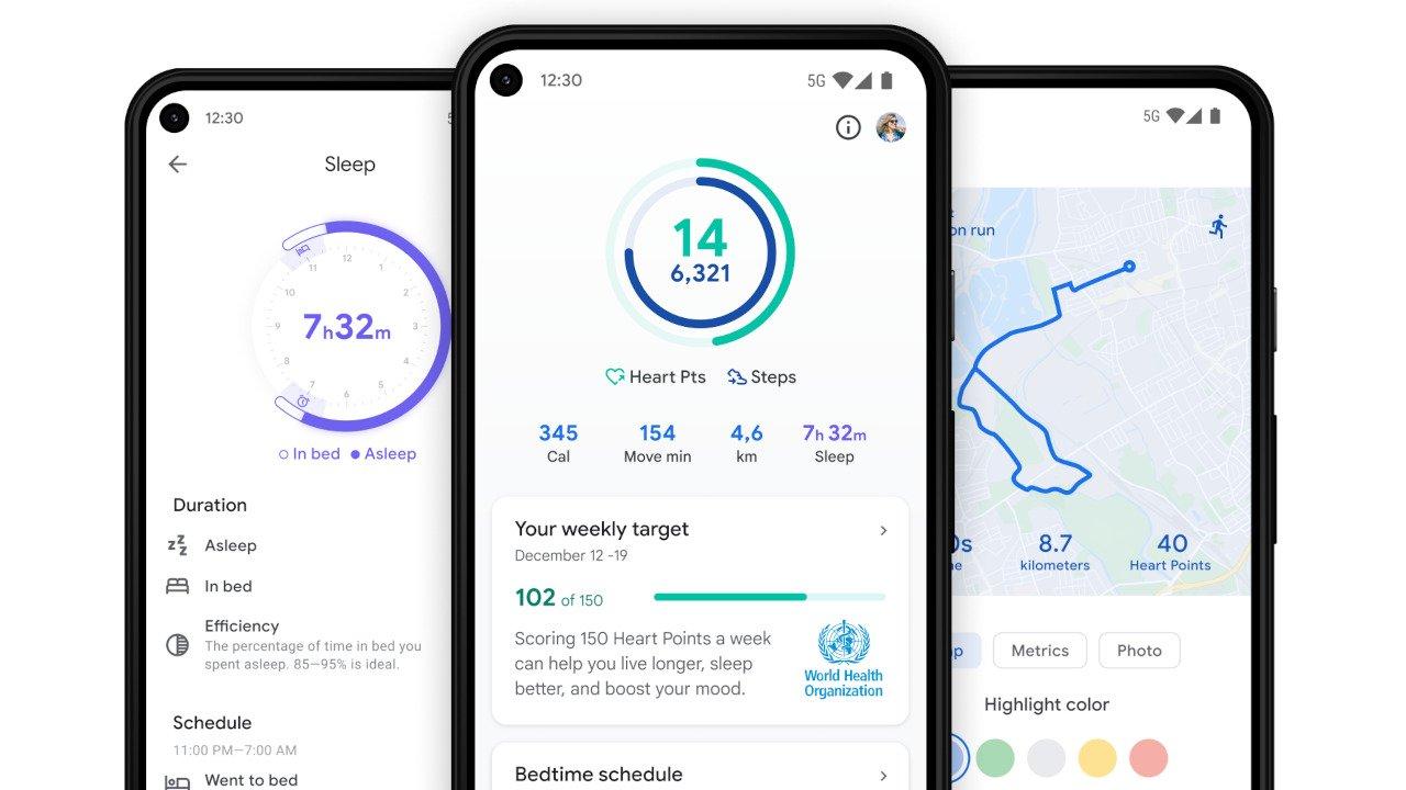 Top 4 Apps de Fitness: Google Fit