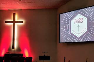 Good Friday at Fresno First Church of the Nazarene, Fresno, California