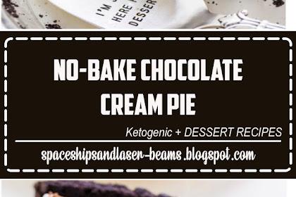 No-Bake Chocolate Cream Pie