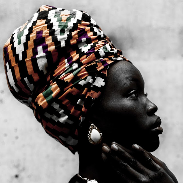 Wrap African head wraps with confidence