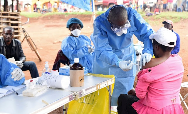 EBOLA IN WEST AFRICA IS NO LONGER A GLOBAL RISK, WHO SAYS