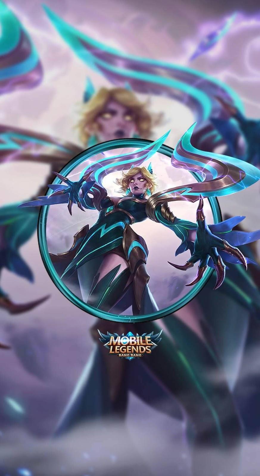Wallpaper Eudora Emerland Enchantress Skins Mobile Legends HD for Mobile