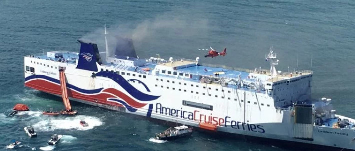 The Caribbean Fantasy Fire Accident while en route from Dominican Republic to Puerto Rico