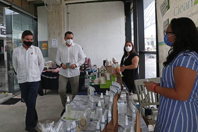 Micro empresarios artesanales e industriales en Yucatán Expone