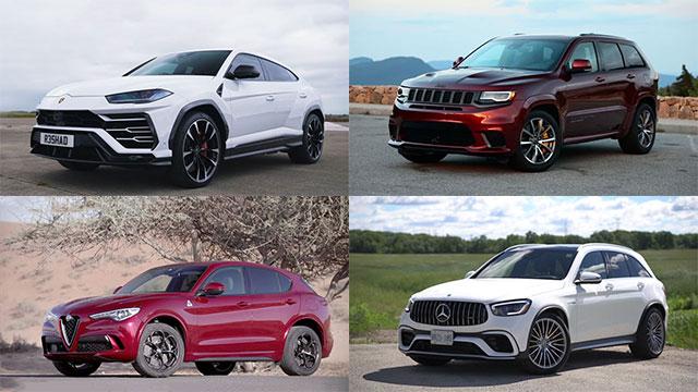 أسرع 10 سيارات دفع رباعي في سنة 2020