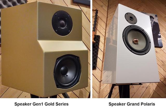 Speaker D'Audio: Gen1 Gold Series & Grand Polaris