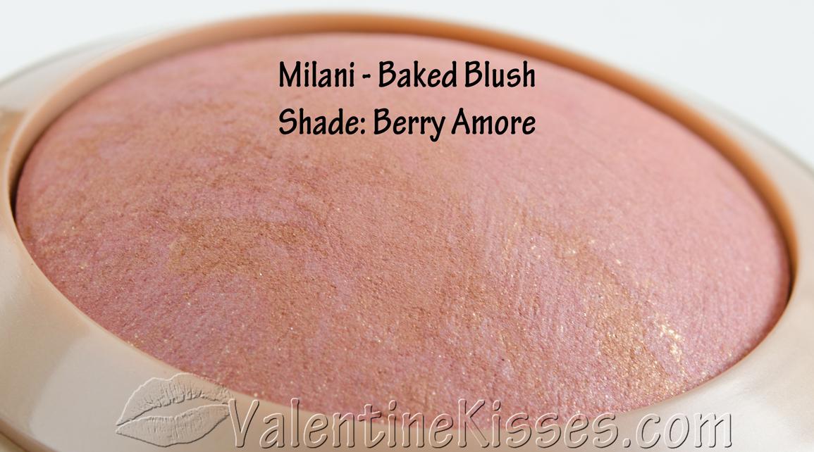 Valentine Kisses: Milani Baked Blush  Valentine Kisse...