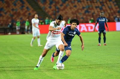 ملخص اهداف مباراة الزمالك وانبي (3-1) الدوري المصري