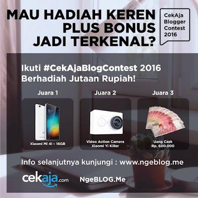 #CekAjaBlogContest 2016