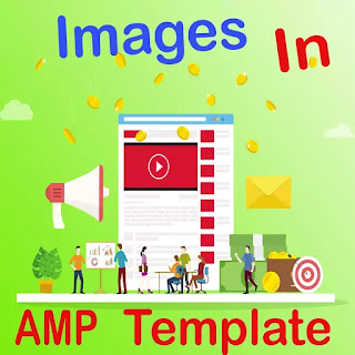 how to add images in amp template