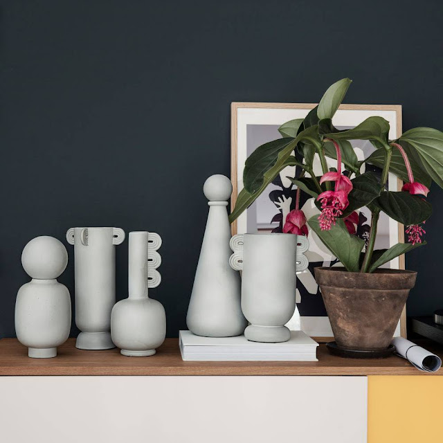 vasi ceramica arredare casa con i vasi in ceramica design vasi di design mariafelicia magno colorblock by felym tendenze casa home decor home design