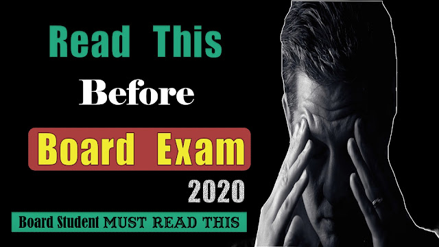 Read This Before Board Exams