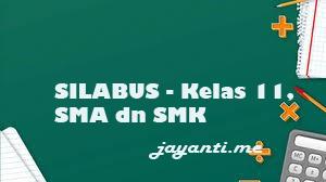 Silabus Bahasa Indonesia Kelas 11 SMA dan SMK K13